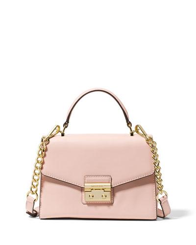 Sloan Small Polished Leather Satchel Bag
