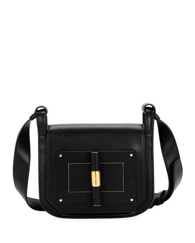 Natalia Small Leather Day Crossbody Bag
