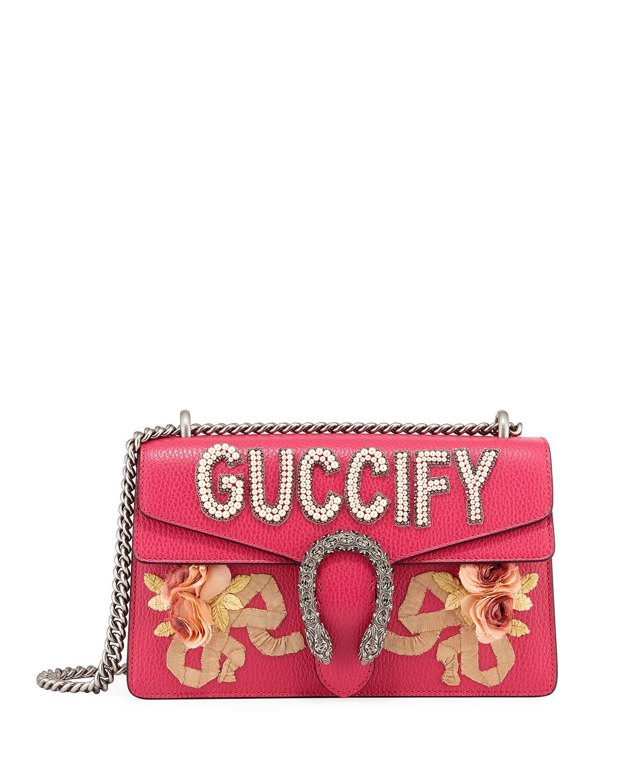 Dionysus Guccify Small Shoulder Bag
