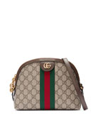 Linea Dragoni GG Supreme Canvas Small Shoulder Bag