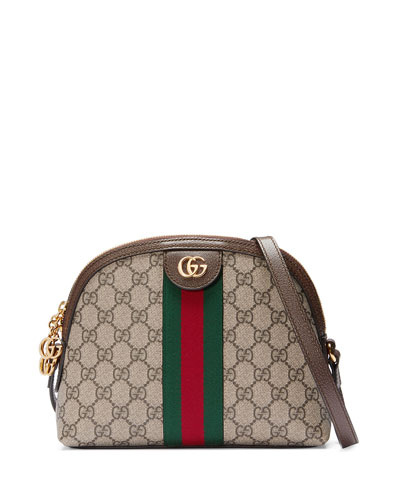 Quick Look. Gucci · Linea Dragoni GG Supreme Canvas Small Shoulder Bag.  Available in Beige 47df1fe4c3954