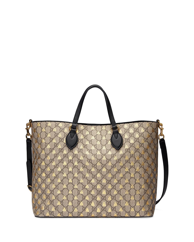 Bestiary GG Supreme Medium Top-Handle Tote Bag