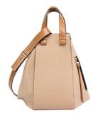 Hammock Two-Tone Leather Bag