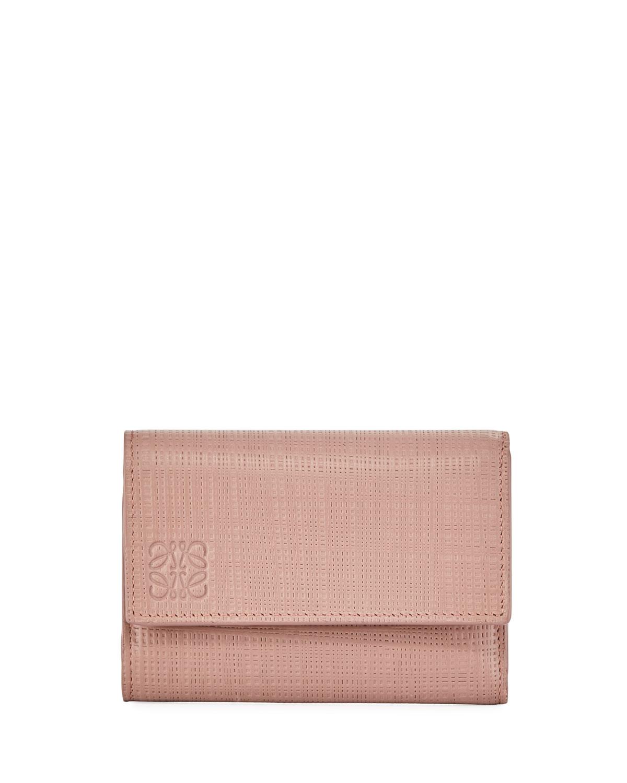 Small Vertical Zip Wallet