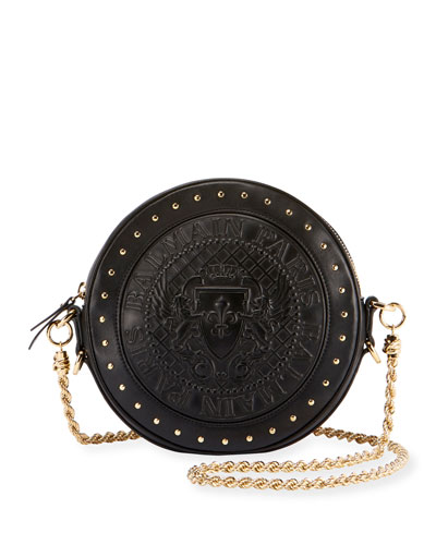 Disco Studded Crossbody Bag