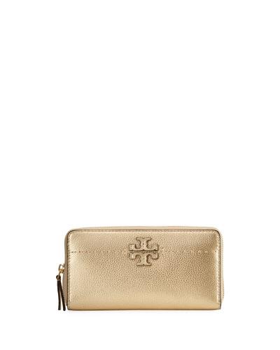 McGraw Metallic Continental Wallet