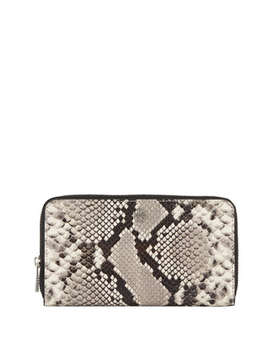 Robinson Embossed Continental Wallet