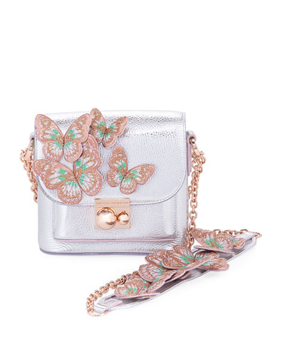 Claudie Butterfly Crossbody Bag