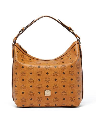 Essential Visetos Original Hobo Bag, Cognac