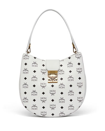 Patricia Visetos Outline Hobo Bag, White