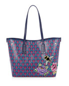 Liberty London Marlborough Iphis Trio Patches Tote Bag