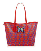 Liberty London Marlborough Iphis Butterfly Patches Tote Bag
