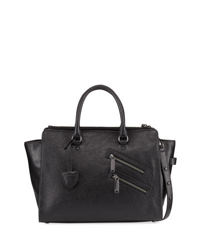Jamie Large Leather Satchel Bag