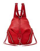 Julian Convertible Mini Backpack, Red