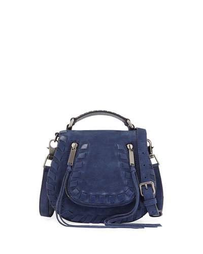 Vanity Small Whipstitch Saddle Bag