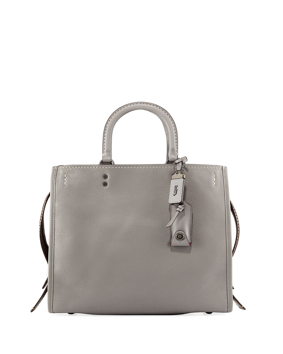 Rogue Mixed Leather Tote Bag