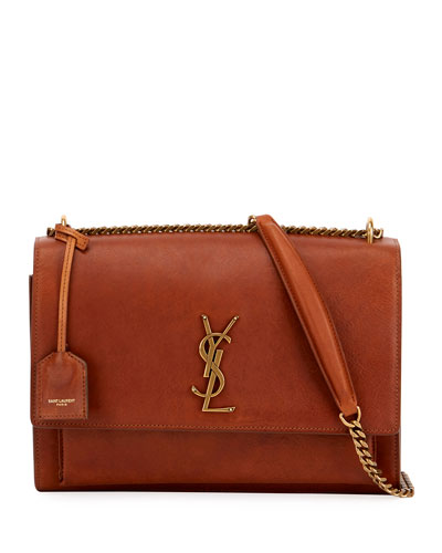 Sunset Monogram Large Chain Crossbody Bag