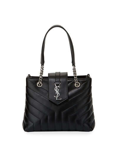 Monogram YSL Loulou Quilted Chain Shoulder Bag