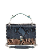 Kan I Python Shoulder Bag