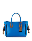 Penelope Massai Two-Tone Medium Tote Bag