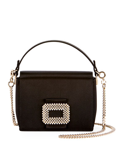 Square Satin Evening Bag