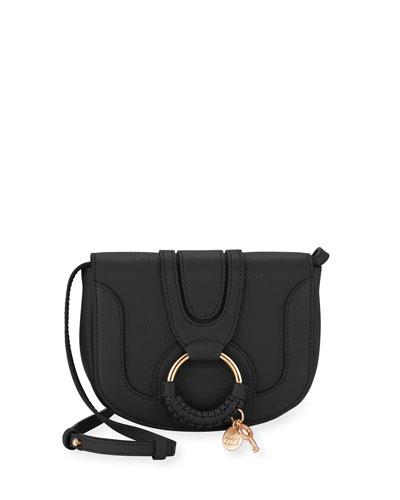Hana Mini Pebbled Crossbody Bag