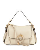Joan Small Leather Satchel Bag