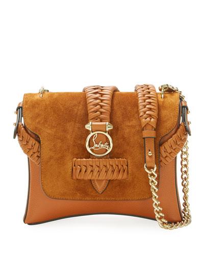 Rubylou Small Suede Shoulder Bag