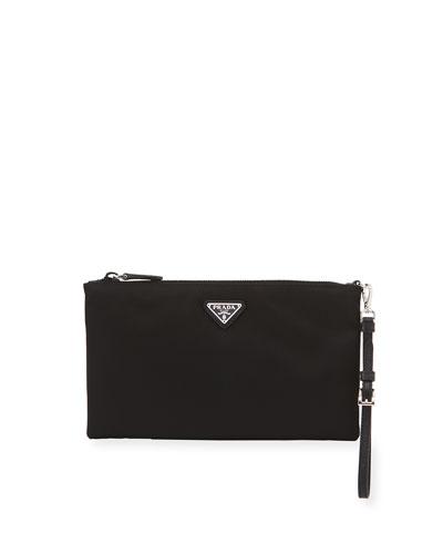 Vela Small Zip Pouch Clutch Bag