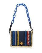 Kira Whipstitch Mini Shoulder Bag