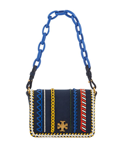 Kira Whipstitch Mini Shoulder Bag