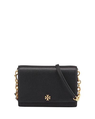 Georgia Leather Flap Shoulder Bag