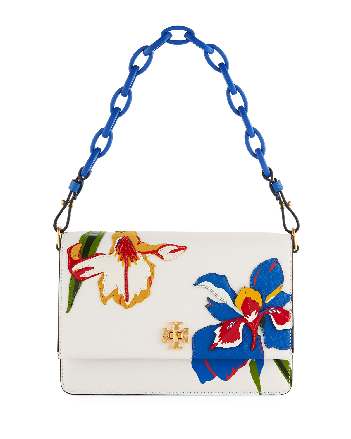 Kira Appliqué Chain Shoulder Bag