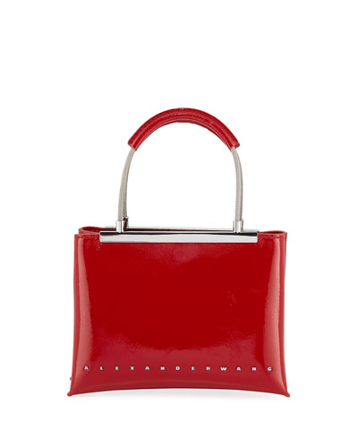 Dime Small Patent Satchel Bag