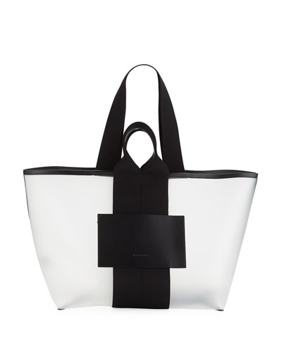 AW Logo Opaque Small Tote Bag
