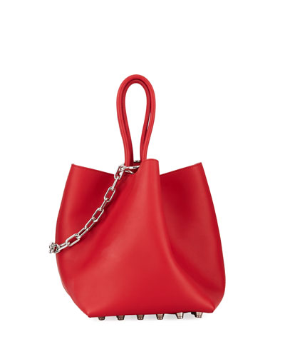 Roxy Soft Small Leather Tote Bag