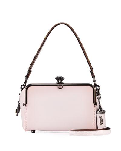 Mailbox Glossy Glovetan Shoulder Bag
