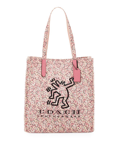 x Keith Haring Dancing Man Tote Bag