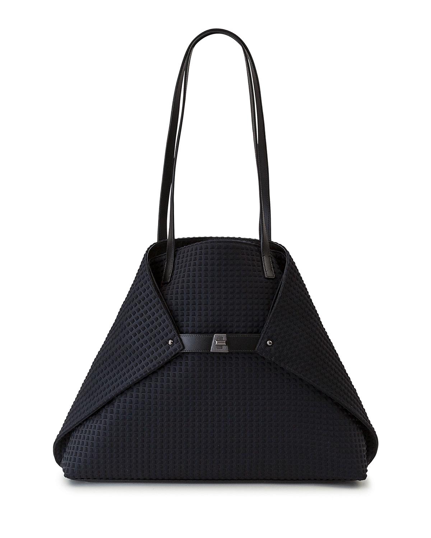 Ai Medium Techno Fabric Shoulder Bag