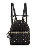 Rockstud Spike Mini Nylon Backpack