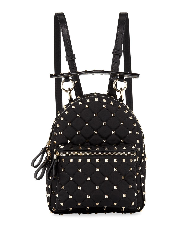 Rockstud Spike Mini Nylon Backpack
