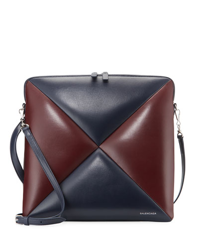Cushion Square Medium AJ Crossbody Bag