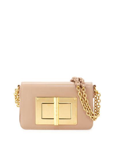 Natalia Medium Chain Crossbody Bag, Tuscany Pink
