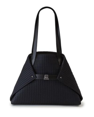 Ai Small Fabric Shoulder Tote Bag
