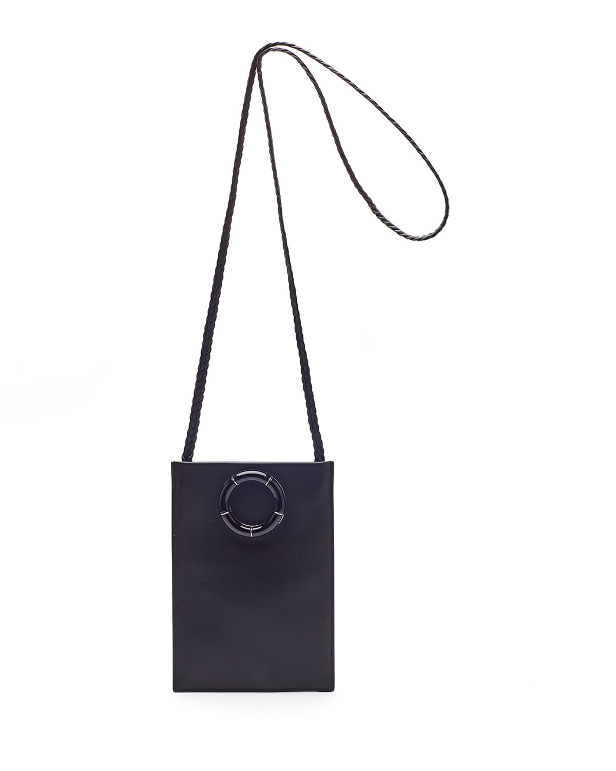 Smooth Calfskin Medicine Pouch Bag