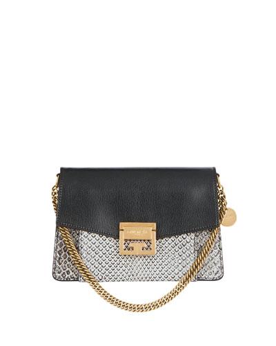 GV3 Small Python Crossbody Bag