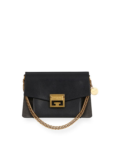 GV3 Mini Pebbled Leather Crossbody Bag