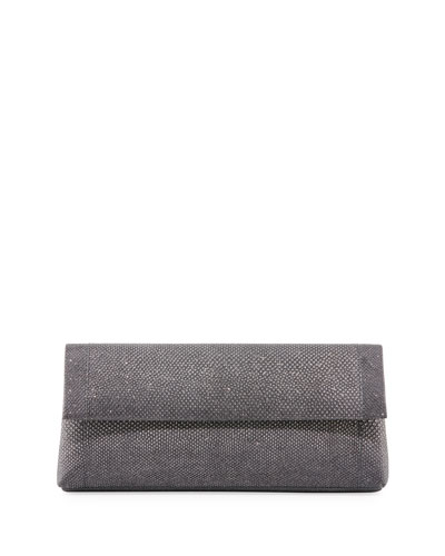 Gotham Karung Flap Clutch Bag