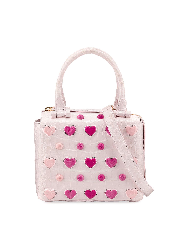 Small Heart Cube Crossbody Bag