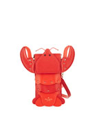 lobster north/south phone crossbody bag